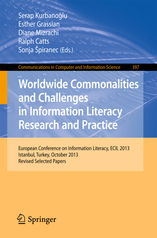 Articles for the European Conference on Information Literacy (ECIL) (2/2)